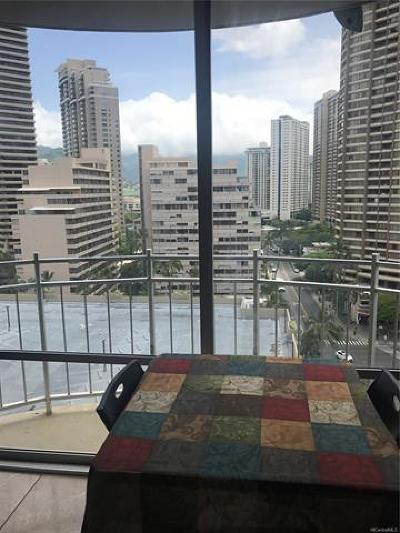 Honolulu Condo/Townhouse For Sale: 1765 Ala Moana Boulevard #1479