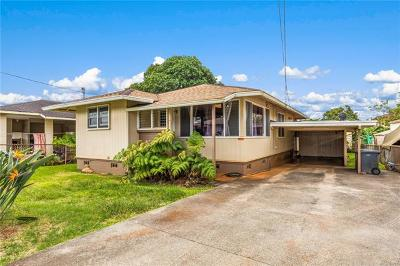 Wahiawa Single Family Home For Sale: 27 Rose Street
