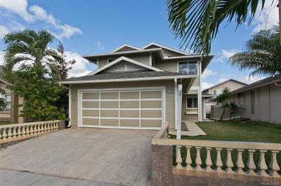 Ewa Beach Single Family Home In Escrow Showing: 91-876 Puhikani Street