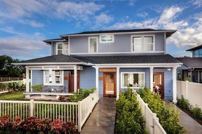 Ewa Beach Single Family Home For Sale: 91-1031 Hinakea Street