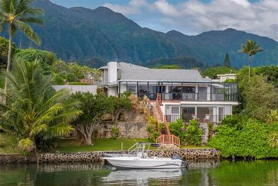Kaneohe HI Single Family Home For Sale: $2,395,000