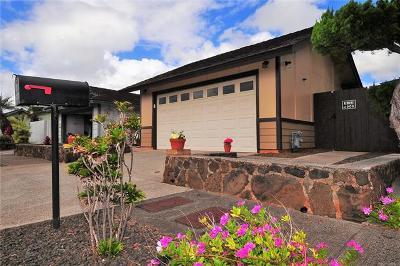 Waipahu Single Family Home For Sale: 94-1160 Nanilihilihi Street