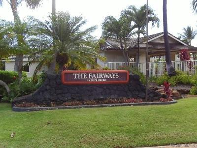 Condo/Townhouse In Escrow Showing: 92-1459 Aliinui Drive #24C