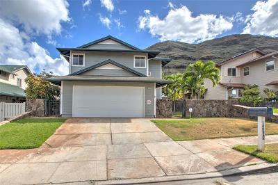 Single Family Home For Sale: 87-1023 Huamoa Street