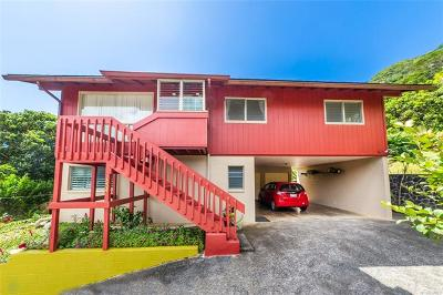 Single Family Home For Sale: 1954 Ahuahu Place
