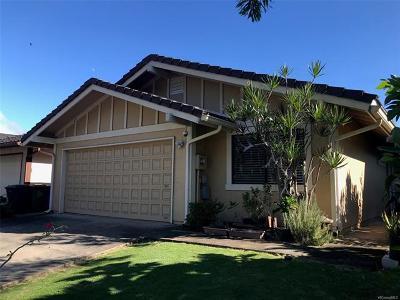 Aiea Single Family Home For Sale: 98-266 Paleo Way #25