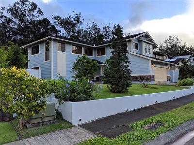 Mililani Single Family Home For Sale: 95-1066 Paemoku Place