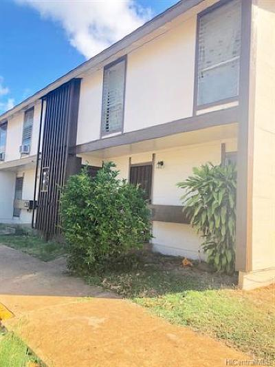 Waianae Condo/Townhouse In Escrow Showing: 87-1550 Farrington Highway #G4