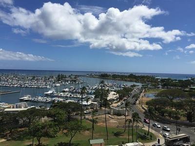 Honolulu Rental For Rent: 1600 Ala Moana Boulevard #1108
