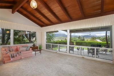 Single Family Home For Sale: 947 Kalawai Place