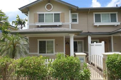 Central Oahu, Diamond Head, Ewa Plain, Hawaii Kai, Honolulu County, Kailua, Kaneohe, Leeward Coast, Makakilo, Metro Oahu, North Shore, Pearl City, Waipahu Rental For Rent: 91-2015 Kaioli Street #4201