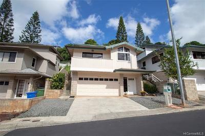 Aiea Single Family Home For Sale: 99-798 Holoai Street
