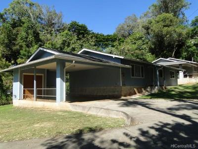 Central Oahu, Diamond Head, Ewa Plain, Hawaii Kai, Honolulu County, Kailua, Kaneohe, Leeward Coast, Makakilo, Metro Oahu, North Shore, Pearl City, Waipahu Rental For Rent: 95-101 Waipuka Street