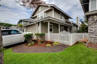 Pearl City Single Family Home For Sale: 98-1820 Kaahumanu Street #B