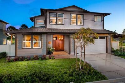 Ewa Beach Single Family Home For Sale: 91-1019 Hinakea Street