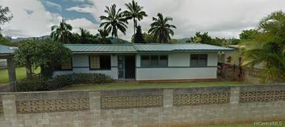 Honolulu County Single Family Home For Sale: 63 California Avenue