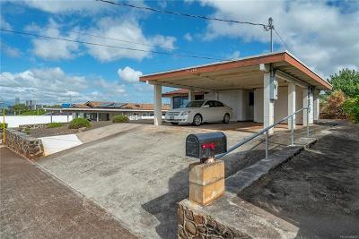 Aiea Single Family Home In Escrow Showing: 99-348 Ulune Street