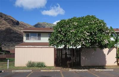 Honolulu County Single Family Home In Escrow Showing: 85-156f Ala Walua Street