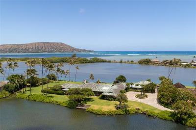 Honolulu Single Family Home For Sale: 5949 Kalanianaole Highway #D