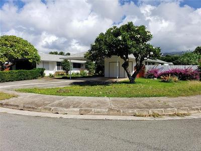 Single Family Home For Sale: 1007 Koloa Street