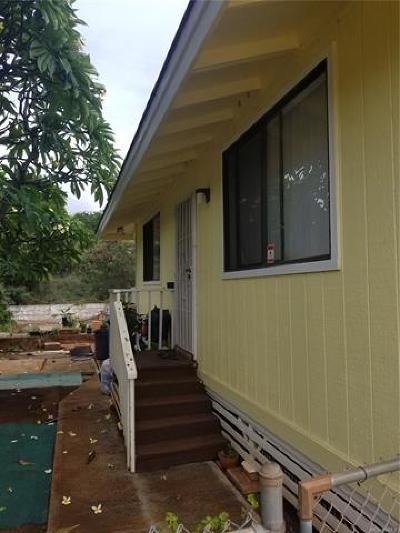 Kapolei Single Family Home For Sale: 92-775a Maalili Place