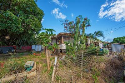 Honolulu County Single Family Home For Sale: 84-688 Lahaina Street