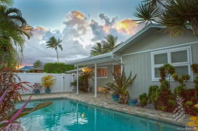 Single Family Home For Sale: 933 Kaipii Street