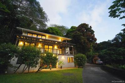 Single Family Home In Escrow Showing: 2651 Waiomao Road #A