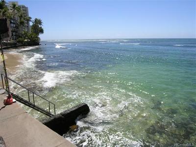 Honolulu Condo/Townhouse For Sale: 2957 Kalakaua Avenue #102
