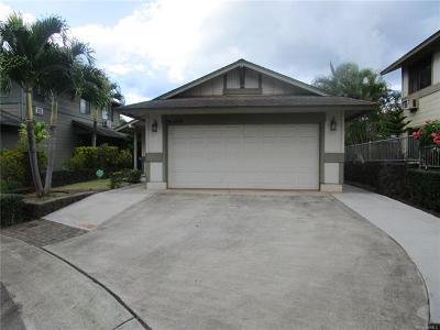 Waipahu Single Family Home For Sale: 94-1156 Kaloli Loop