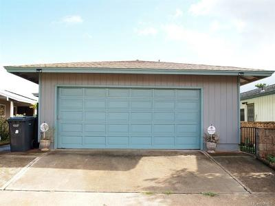 Waipahu Single Family Home In Escrow Showing: 94-419 Hamau Street