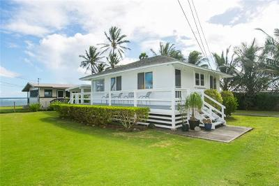 Hauula Single Family Home In Escrow Showing: 54-006 Haukoi Place