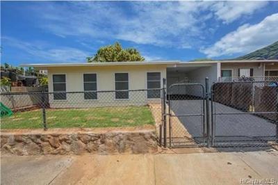 Honolulu County Single Family Home For Sale: 84-198 Kepue Place
