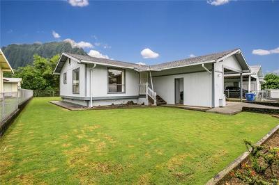 Kaneohe Single Family Home For Sale: 45-586 Apapane Street