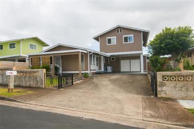 Single Family Home For Sale: 98-1413 Hoohonua Street