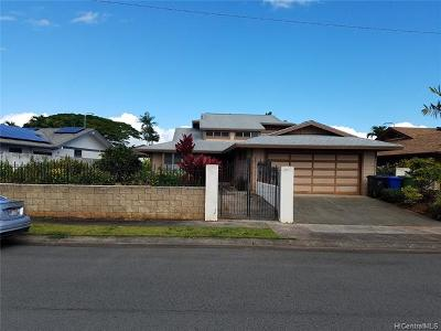Mililani Single Family Home For Sale: 95-1044 Haalohi Street
