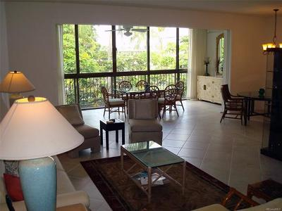 Condo/Townhouse For Sale: 4999 Kahala Avenue #465