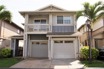 Ewa Beach Single Family Home For Sale: 91-1033 Kanela Street #T-17
