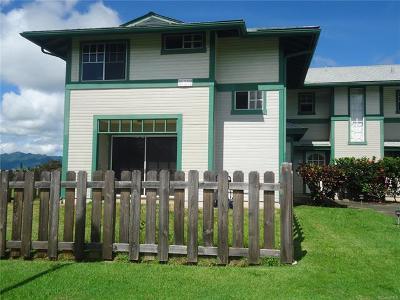 Mililani Condo/Townhouse For Sale: 95-1009 Kuauli Street #137