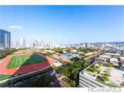 Condo/Townhouse For Sale: 1288 Kapiolani Boulevard #I-1601