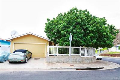 Honolulu County Single Family Home In Escrow Showing: 86-198 Moelua Street