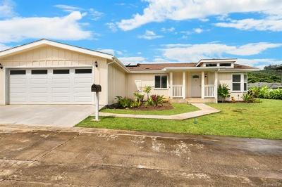 Kaneohe Single Family Home For Sale: 47-414 Ahuimanu Place #D