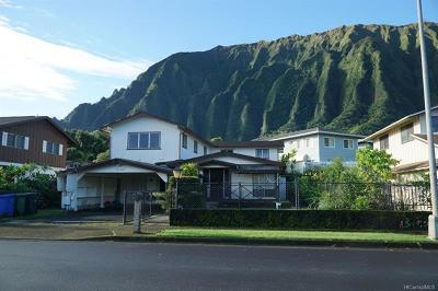 Kaneohe Single Family Home For Sale: 47-562 Hui Iwa Street