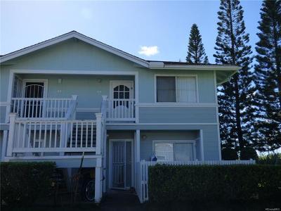 Mililani Condo/Townhouse For Sale: 95-1140 Makaikai Street #20