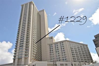 Honolulu County Condo/Townhouse For Sale: 410 Atkinson Drive #1229