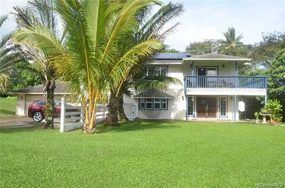 Single Family Home For Sale: 54-136 Hauula Homestead Road #B