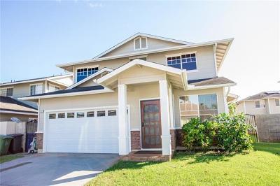 Ewa Beach Single Family Home For Sale: 91-1027 Makaike Street