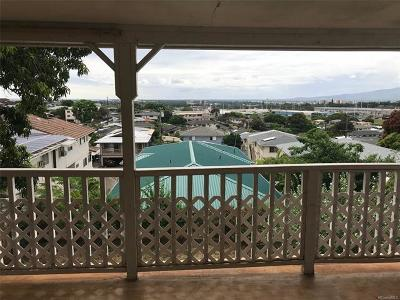 Honolulu Single Family Home For Sale: 4450 Likini Street