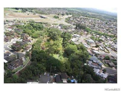 Mililani Residential Lots & Land For Sale: 95-329 Waianuhea Place