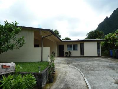 Kaneohe Single Family Home For Sale: 46-442 Makena Street